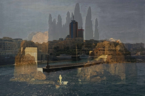 "Isle of the Dead: ""Basel"" version (after Böcklin)"