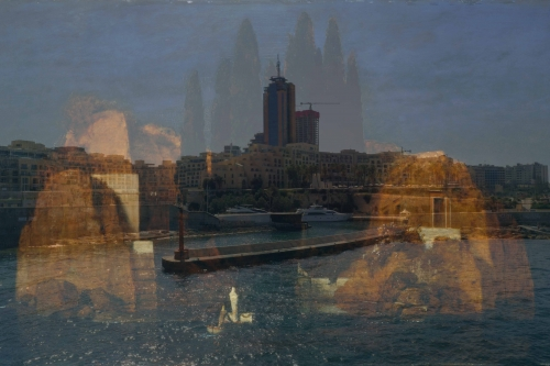 "Isle of the Dead: ""New York"" version (after Böcklin)"