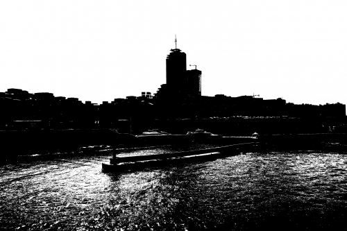 Isle of the Dead: Fourth Version (black-and-white photograph)